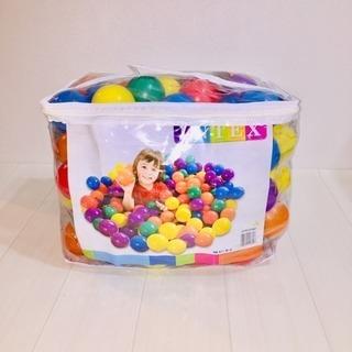 INTEX  ボールプール用カラーボール 8㎝ 100個セット