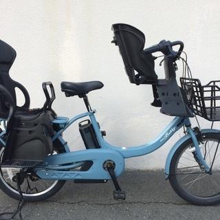 地域限定送料無料 ヤマハ パスバビー アン 三人乗り 20インチ 子供乗せ 2017年 ビッケ ギュットアニーズ 神戸市 電動自転車の画像