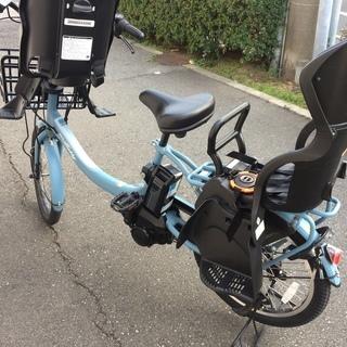 地域限定送料無料 ヤマハ パスバビー アン 三人乗り 20インチ 子供乗せ 2017年 ビッケ ギュットアニーズ 神戸市 電動自転車 - 自転車