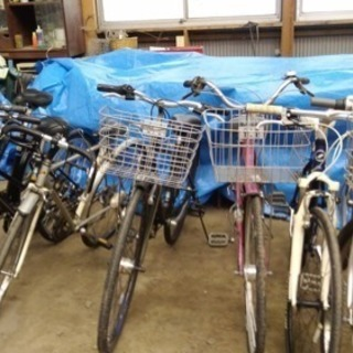 中古自転車たくさんあります!