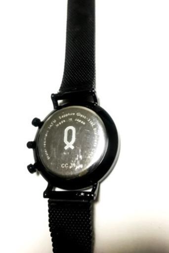 sports shoes bc61d b3322 腕時計 knot ノット ブラック (tatsuya) 大阪のアクセサリー《腕時計》の中古・古着あげます・譲ります|ジモティ...