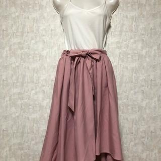 newlyme フレアスカート