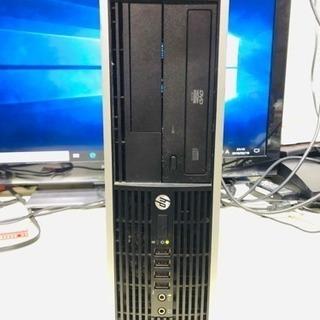 HP スリムディスクトップPC 第2代i5-2400S 2.50G...