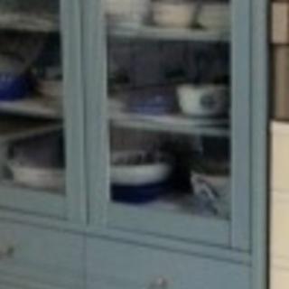 中古品 食器棚