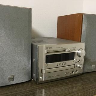 1,500円/DENONステレオコンポ/CD▼、MD、ラジオ