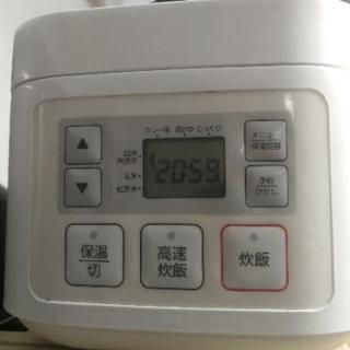 ニトリのマイコン炊飯ジャー 炊飯器 三合炊き ティニー3 SN-A5