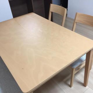 ダイニングテーブル(ニトリ)2018年購入120x78x70cm