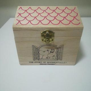 ムーミンの木箱