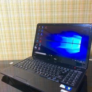 中古PC NEC LaVie LS150/B【ブラック】