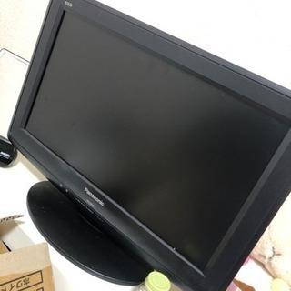 動作確認済みの19インチのTV Panasonic VIERA