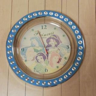 ディズニープリンセス 壁掛け時計