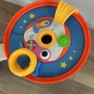 知育玩具付き歩行練習器
