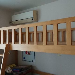 ニトリオリジナル木製ロフトベッド