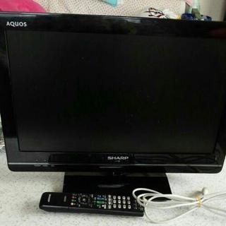 テレビ シャープ AQUOS  19型