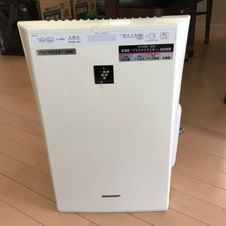 SHARP プラズマクラスター7000加湿空気清浄機 2011年製