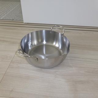 ステンレス 天ぷら鍋 22cm IH用