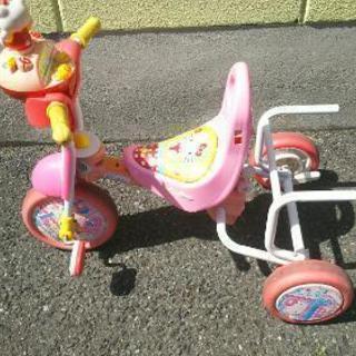 ハローキティ子供用三輪車