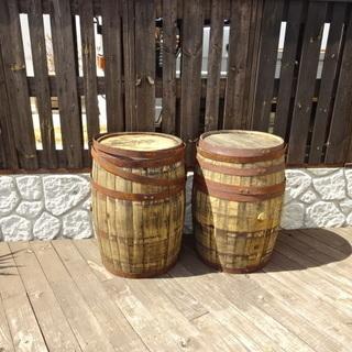 樽 1つ10,000円 バーボン樽 ウイスキー樽 インテリア レス...