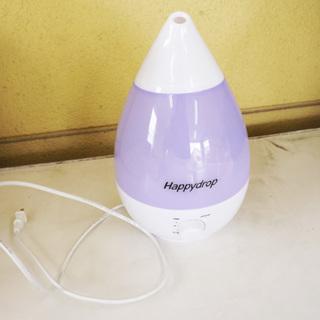 【値下げ!】超音波式アロマ加湿器 HappyDrop IFD-4...