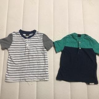95 ベビーギャップ GAP 半袖 Tシャツ ボーダー