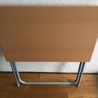 折りたたみ式 簡易テーブル 23日まで