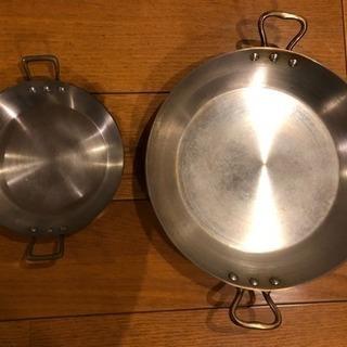 フランス製 銅パエーリャ鍋をお譲りします。