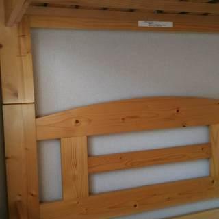 【0円お譲りいたします】ニトリ製キッズ用二段ベッド&マットレス