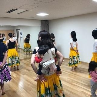 新規メンバー募集中!子連れオッケー!フラ&タヒチアンダンスサークル