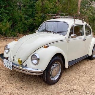 ■空冷ビートル VW TYPE-1 1973年式 1300 白■