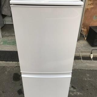 冷蔵庫 シャープ 2ドア 137L 2015年 SJ-D14A-W...