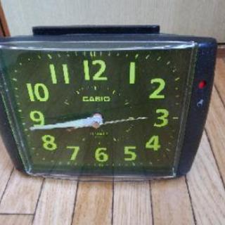 めざまし時計 カシオ