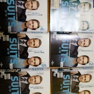 SUITS スーツ DVD6枚 1stシーズン全12話