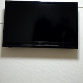 ソニー40インチ液晶テレビ KDL-40F1  壁掛け金具着き