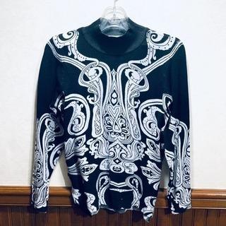 柄物セーター
