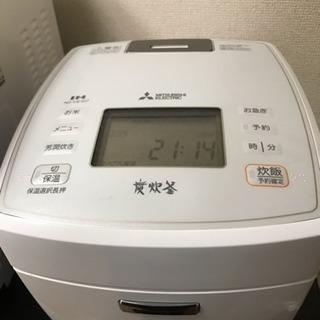 (新規受付終了)五合炊き三菱製炊飯器(中古)