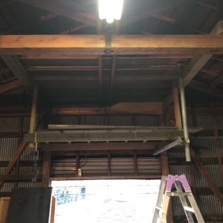 倉庫に作った棚の木材(3/21追記)