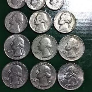 米国 コイン 12枚セット