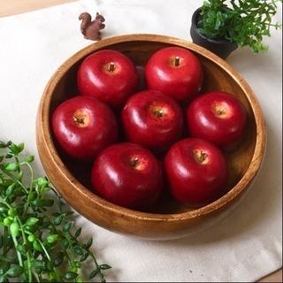 (大)美味しそうなりんごのフェイクフルーツ7玉セット♫