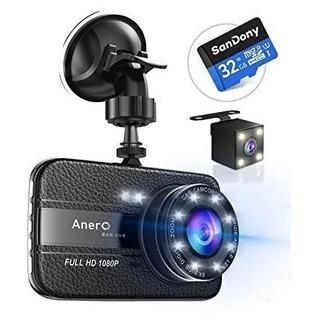 【新品未使用】前後カメラ付き ドライブレコーダー