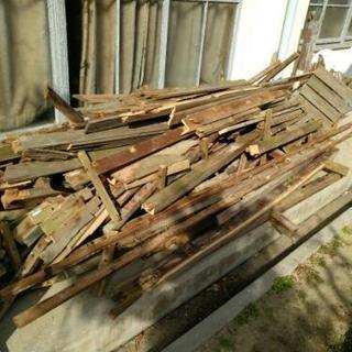 薪用 材木