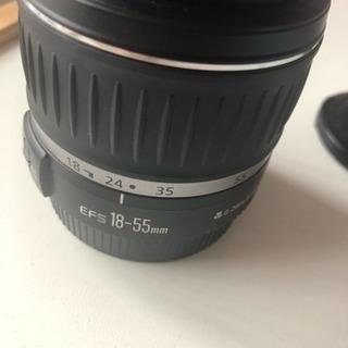 Canon レンズ☆ 18-55mm レンズカバー付き