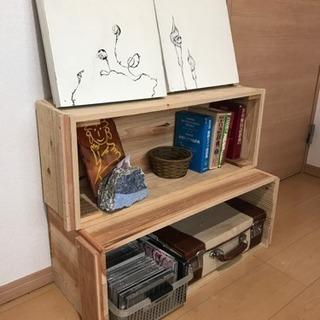木箱 シェルフやプランター、おもちゃ箱に