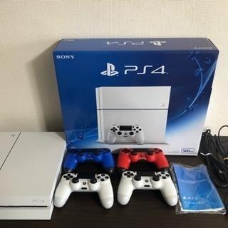 PlayStation4【コントローラ4つセット】
