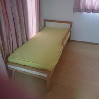 キッズ用ベッド160センチ マット付き