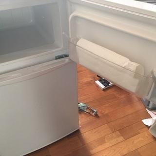 ノジマ 2ドア冷蔵庫  82L HER-822W 2015年製