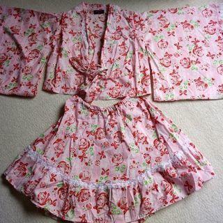 女児浴衣☆「PureJolly」スカートタイプ!