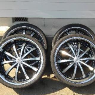 24インチ LEXANI LUXURY タイヤ付4本SET…