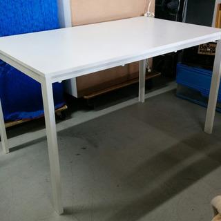 IKEA イケア テーブル ホワイト 125x75㎝ MELLTO...