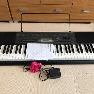 カシオ電子キーボード CTK2200