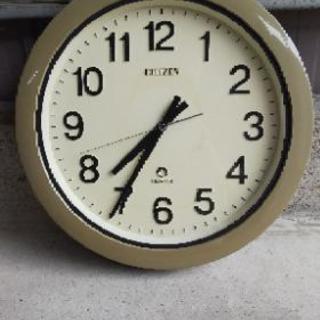 シチズン製壁掛け時計